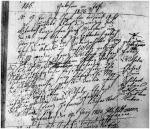 Birth and baptism of Franz Wilhelm ERHRHARD now SCHUBART in 1825